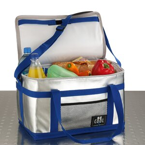 25 L Be Cool Cooler in Silver and Blue