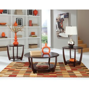 casters coffee table sets you'll love | wayfair