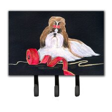 Shih Tzu Leash Holder and Key Hook by Caroline's Treasures