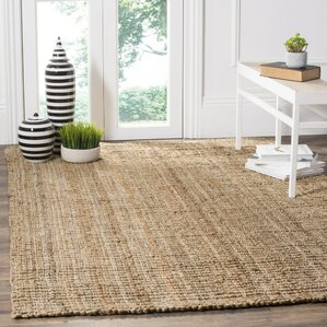 Superior Gaines Hand Woven Brown Area Rug
