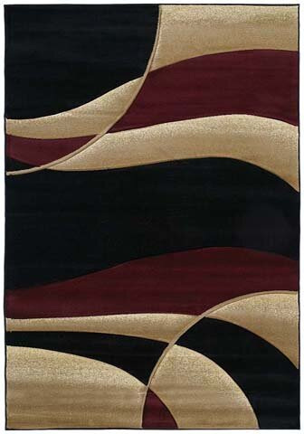 Ebern Designs Dov Burgundy Area Rug U0026 Reviews   Wayfair