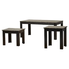 Hagins 3 Piece Coffee Table Set by Charlton Home