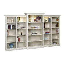 Hampton 80 Oversized Set Bookcase by A&E Wood Designs