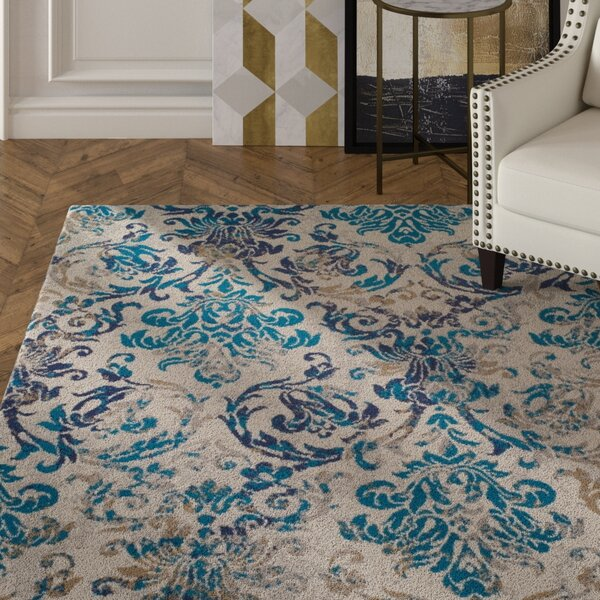 Bromelton Modern Blue Indoor/Outdoor Area Rug by House of Hampton