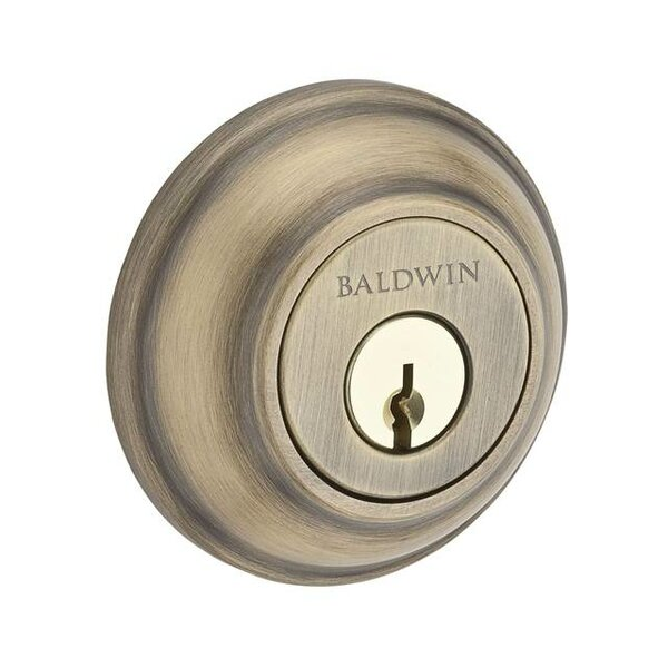 Traditional Round Single Cylinder Deadbolt by Baldwin
