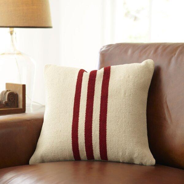 Drew Wool Pillow Cover by Birch Lane™