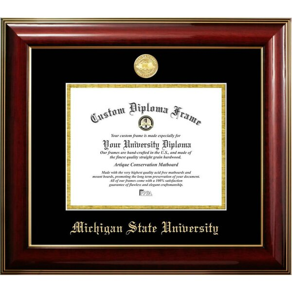 The Contemporary Michigan State University Picture Frame by Diploma Frame Deals
