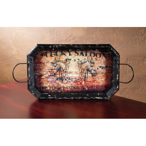 Lucky Saloon Tray by Ohio Wholesale