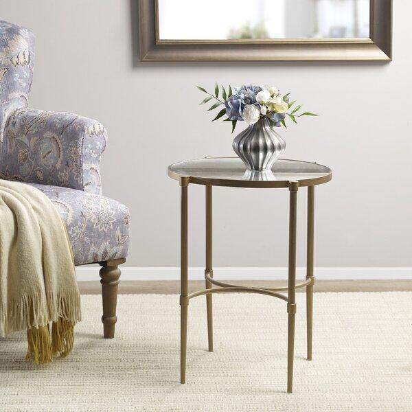 Martha Stewart Lia End Table By Martha Stewart