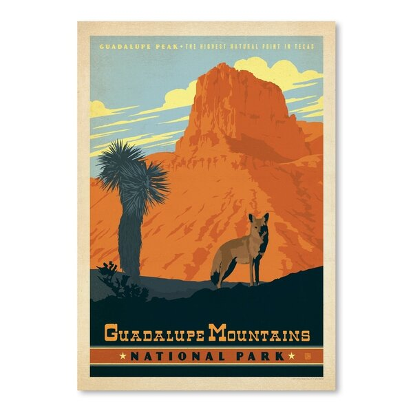 Guadalupe Mountains National Park Vintage Advertisement by East Urban Home