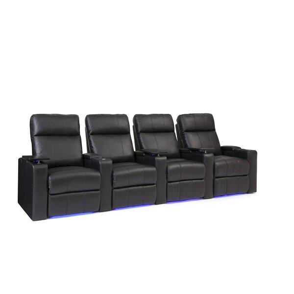 Bravo Home Theater Row Seating (Row Of 4) By Latitude Run
