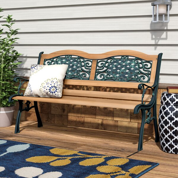 Atkins Outdoor Patio Park Bench by Red Barrel Studio