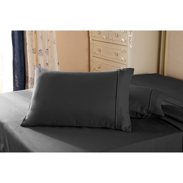 Acebes Double Brushed Microfiber Pillow Case by Alwyn Home