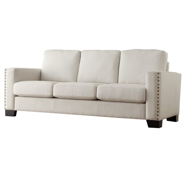 Blackston Nailhead Trim Sofa by Mercury Row