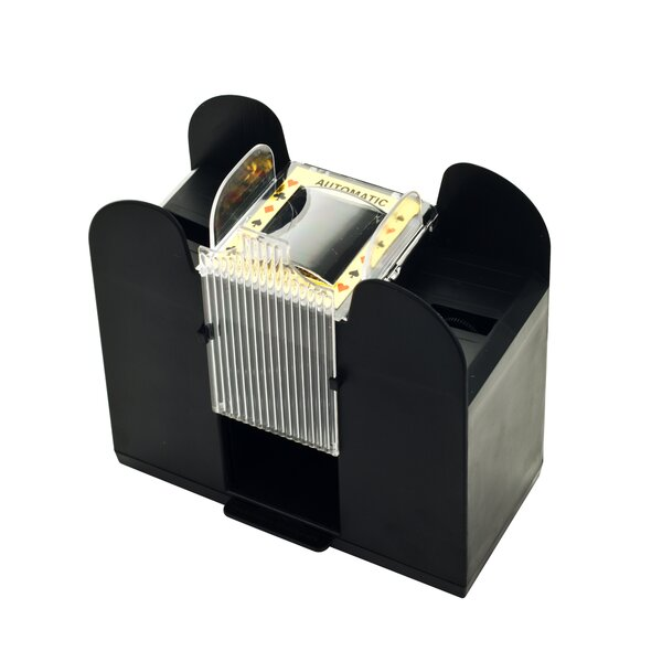Six Deck Automatic Card Shuffler by Trademark Glob