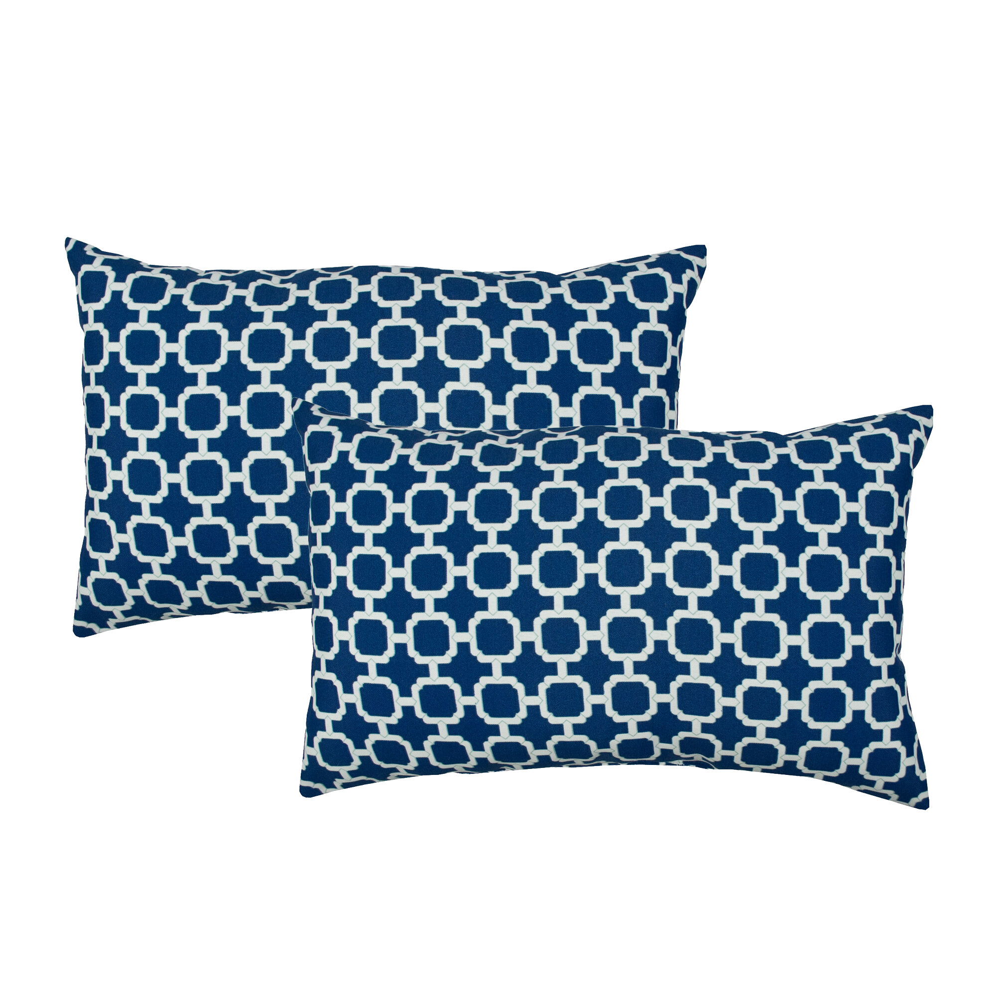 decorative sets two chenille mainstays ip throw pillow navy walmart pack com