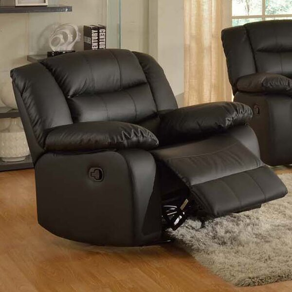 Koury Modern Manual Rocker Recliner by Red Barrel