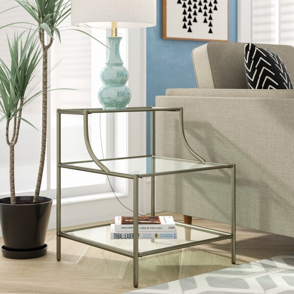 Saira End Table by Wrought Studio