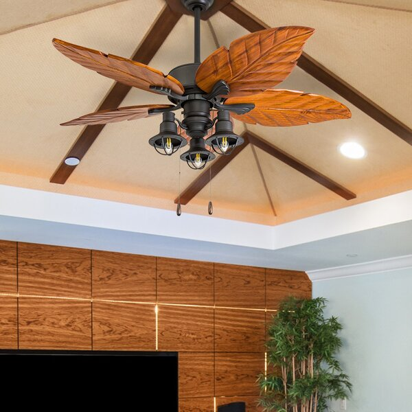 52 Franklinton 5 Blade LED Ceiling Fan by Bay Isle Home