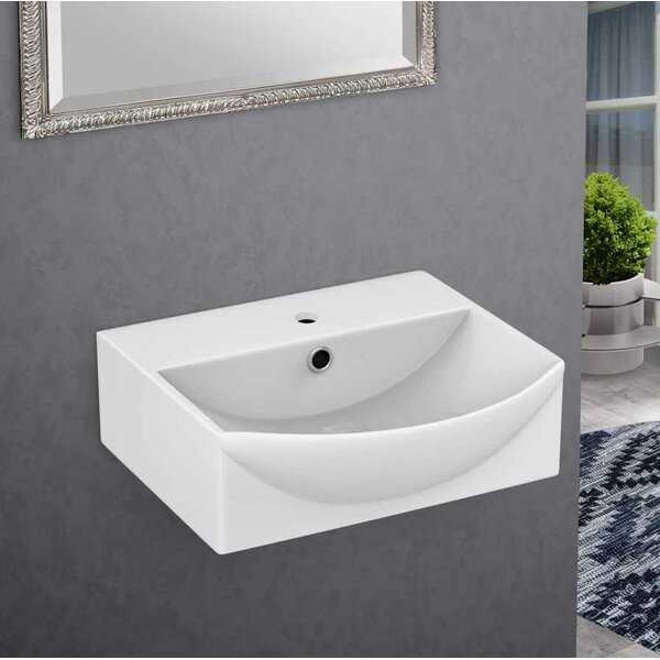 Ceramic 13.75 Bathroom Sink with Faucet by Royal Purple Bath Kitchen