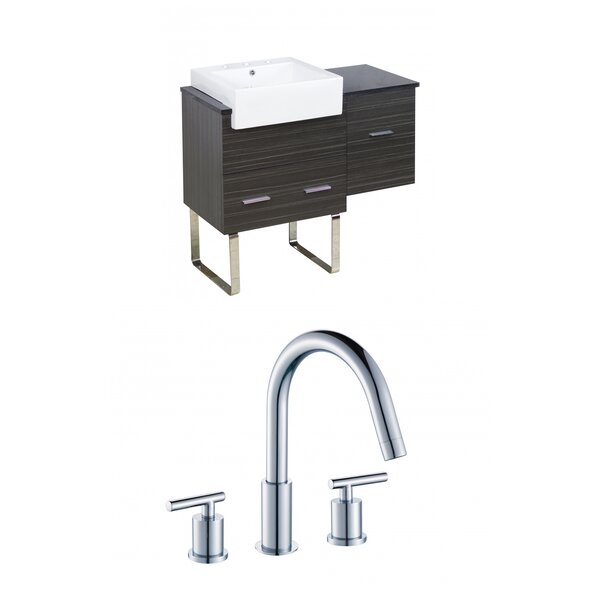 Alican 37 Single Bathroom Vanity Set