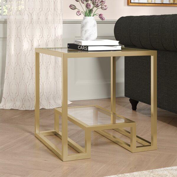 Imel End Table by Mercer41