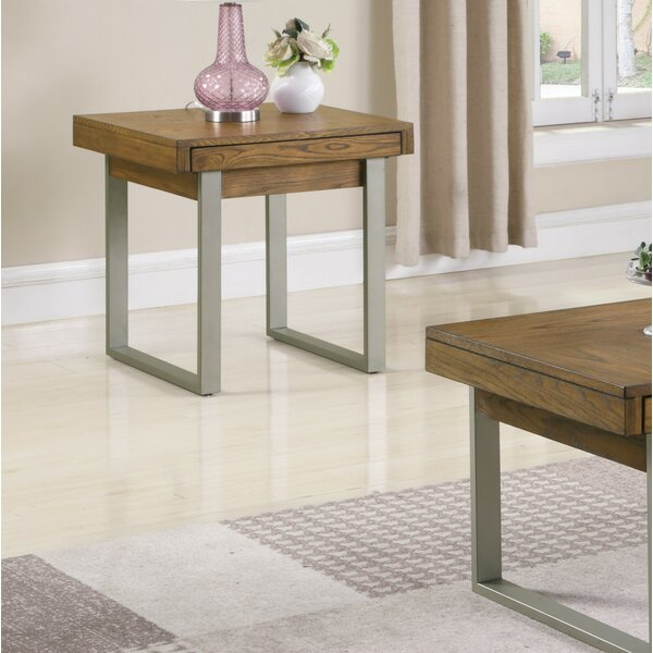 Ann End Table with Storage by Foundry Select