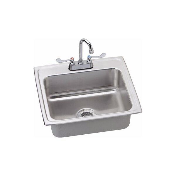 6 L x 20 W Drop-In Kitchen Sink with Faucet by Elkay