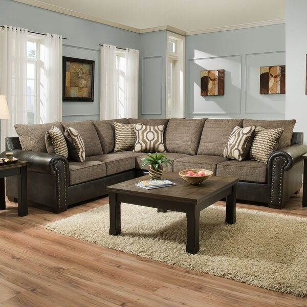 Barry Simmons Upholstery Sectional by Fleur De Lis Living