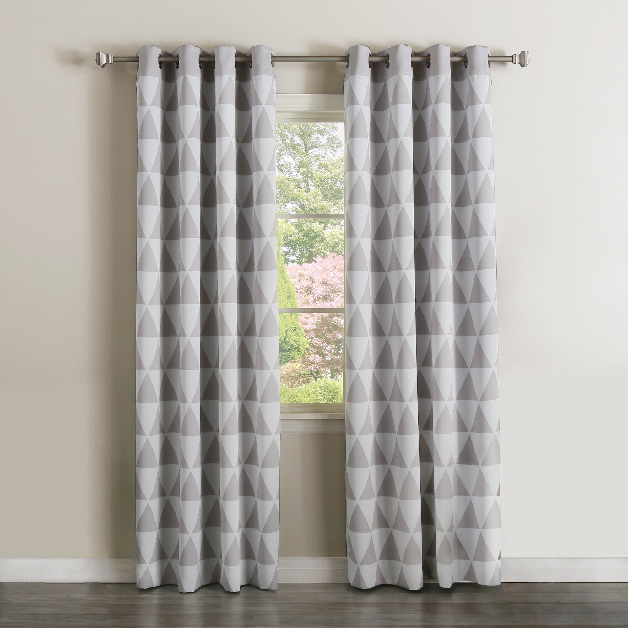 eyelet room living door for tone pinterest curtains pin patio
