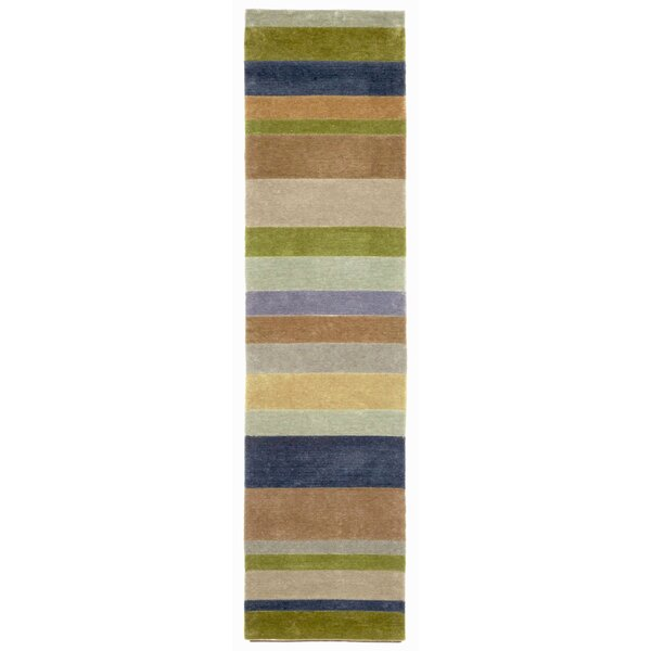 Lilly Stripes Area Rug by Ebern Designs