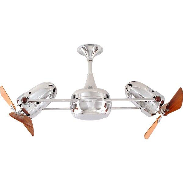 36 Duplo-Dinamico 3 Blade Ceiling Fan by Matthews Fan Company