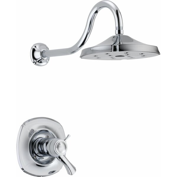Addison Diverter Shower Faucet Trim with Lever Handles and TempAssure by Delta
