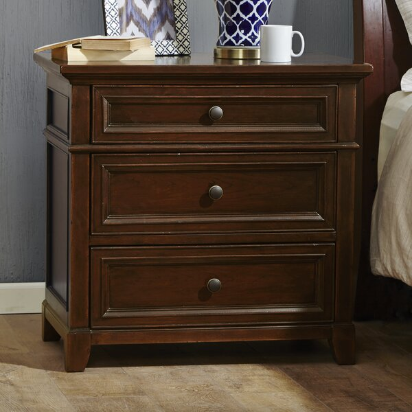 Montclair 3 Drawer Nightstand by Harbor House Harbor House