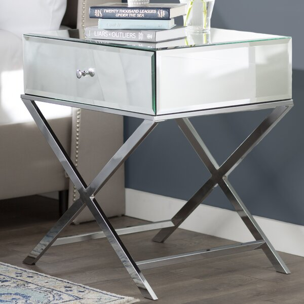 Desidério End Table With Storage by Willa Arlo Interiors
