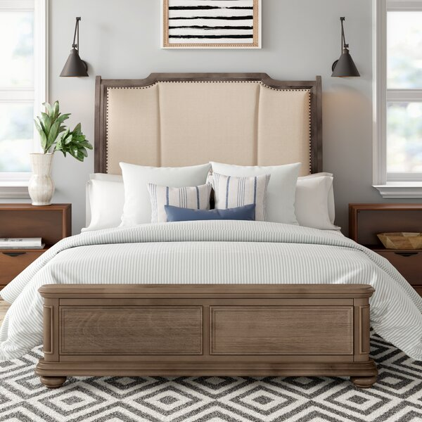 Joutel Upholstered Standard Bed by One Allium Way