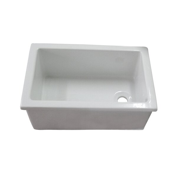 Utility 22.75 x 14.75 Drop-In/Undermount Service Sink by Barclay