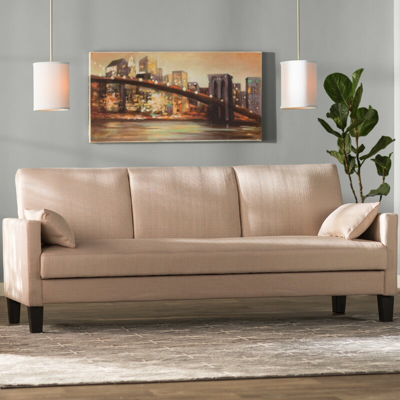 Hudson sleeper sofa reviews allmodern for Sofa hudson