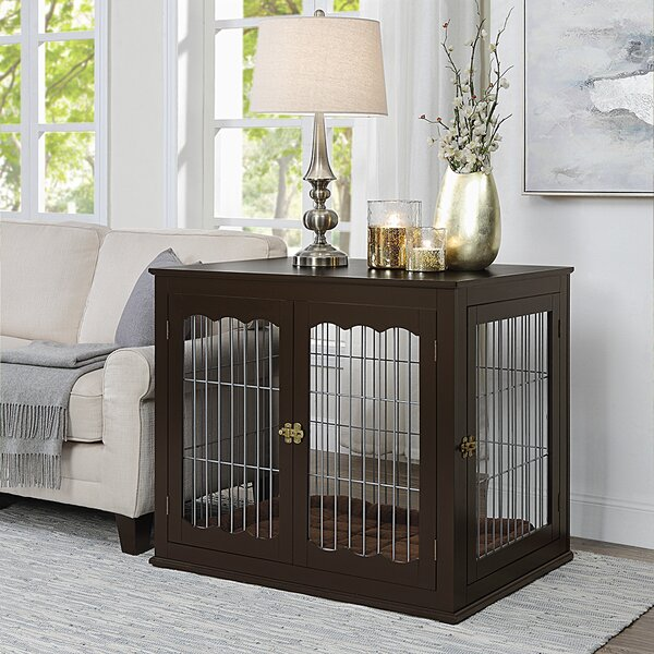 Kendal Large Wood & Wire Pet Crate by Tucker Murphy Pet Tucker Murphy Pet
