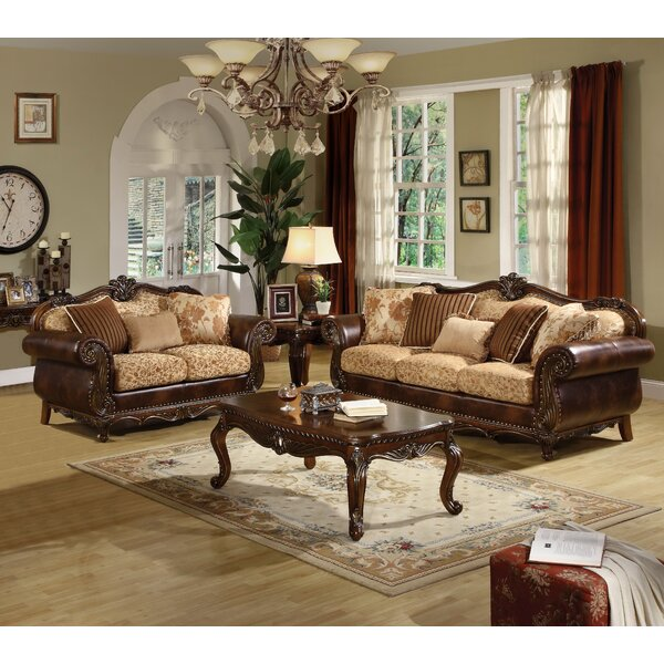 Mccarthy 3 Piece Configurable Living Room Set by Astoria Grand