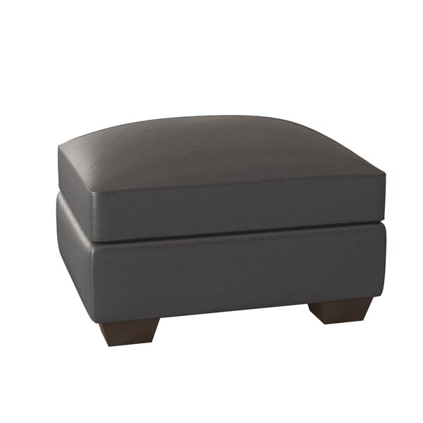 Pratt Leather Ottoman by Birch Lane? Heritage Birch Lane�?� Heritage