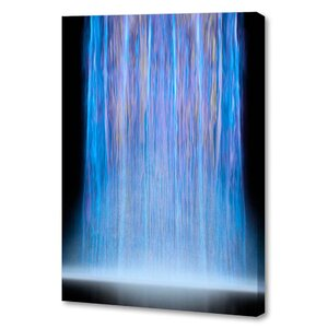 'Halcyon Waterfall' by Scott J. Menaul Graphic Art on Wrapped Canvas by Menaul Fine Art
