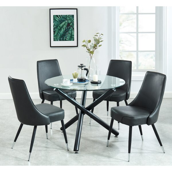 Dorthy Contemporary 5 Piece Dining Set by Wrought Studio
