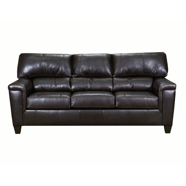 Basurto Leather Sofa by Red Barrel Studio