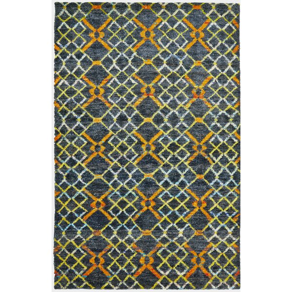 Sanford Hand-Tufted Amber Area Rug by Latitude Run