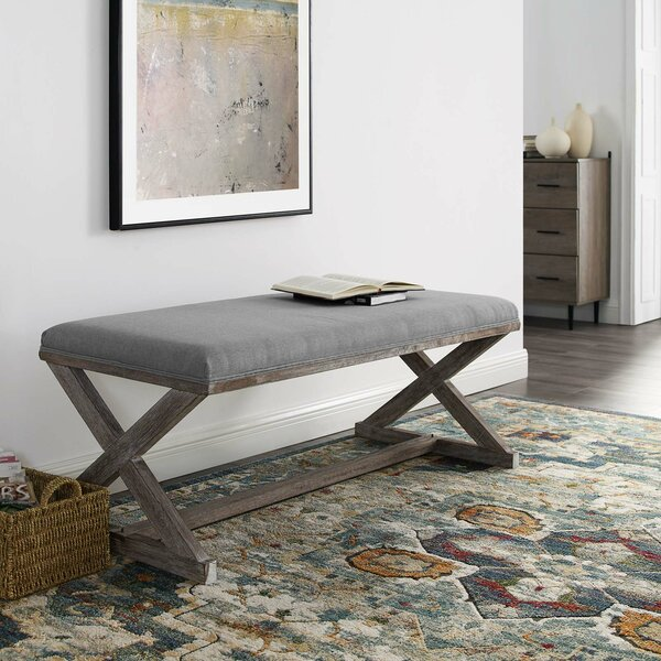 Rickey Upholstered Bench by Ophelia & Co.
