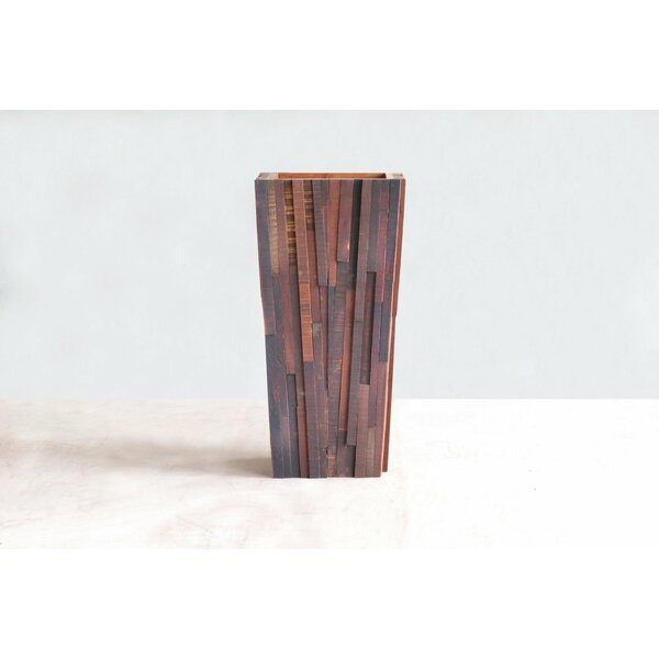 Wood Pot Planter by Masaya & Co