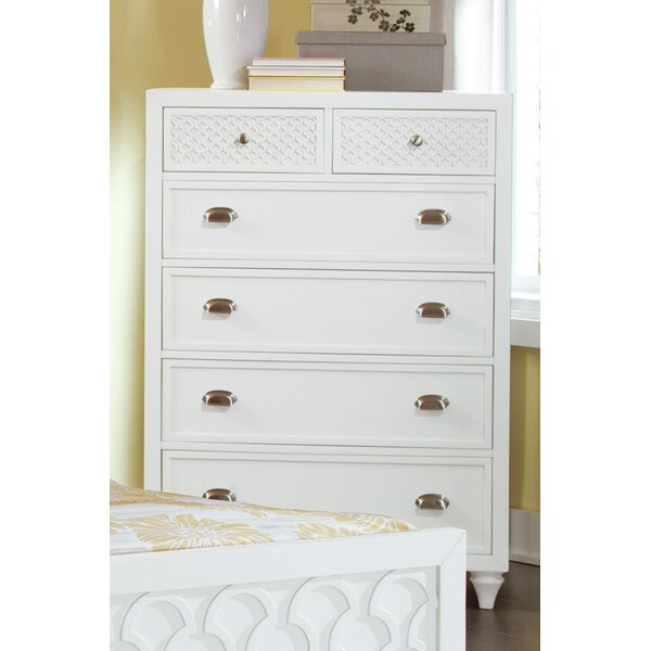 Amanda 6 Drawer Chest by My Home Furnishings