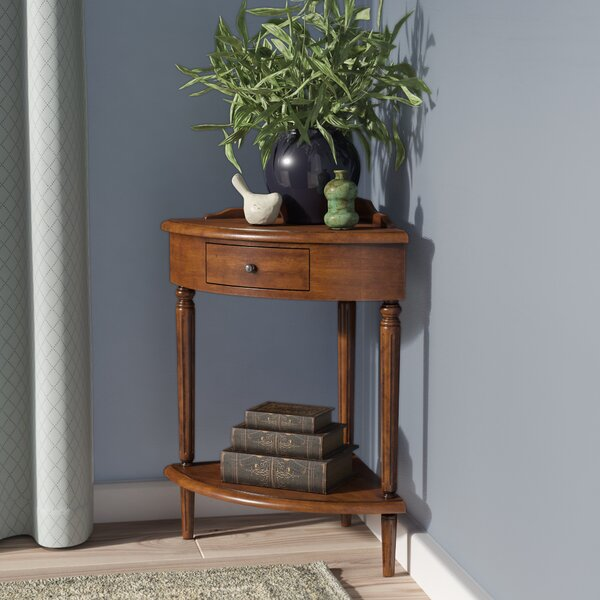 Apple Valley Corner End Table by Charlton Home