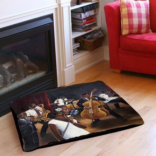 Jazz Affair Indoor/Outdoor Pet Bed by Manual Woodworkers & Weavers